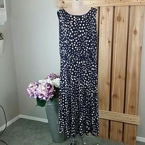 Plus Size Dressbarn Polka Dot Dress